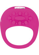 Key Ela Rechargeable Vibrating Silicone Ring Waterproof...