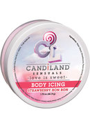 Candiland Sensuals Body Icing Strawberry Bon Bon 1.7 Ounce