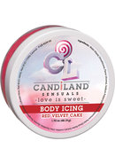 Candiland Sensuals Body Icing Red Velvet Cake 1.7 Ounce