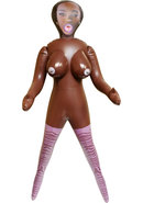 Inflatable Love Doll Mercedes Waterproof Brown 4.85 Feet