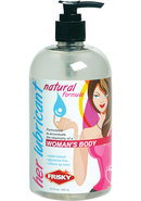 Frisky Natural Personal Lubricant For Her  16oz